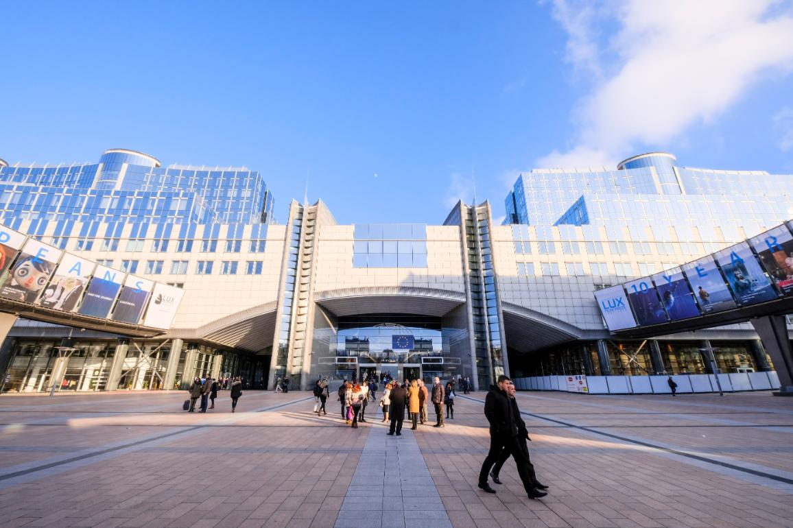 Európsky parlament v Bruseli © Európsky parlament.