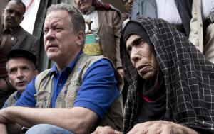 The Executive Director of the World Food Programme David Beasley with people in Yemen