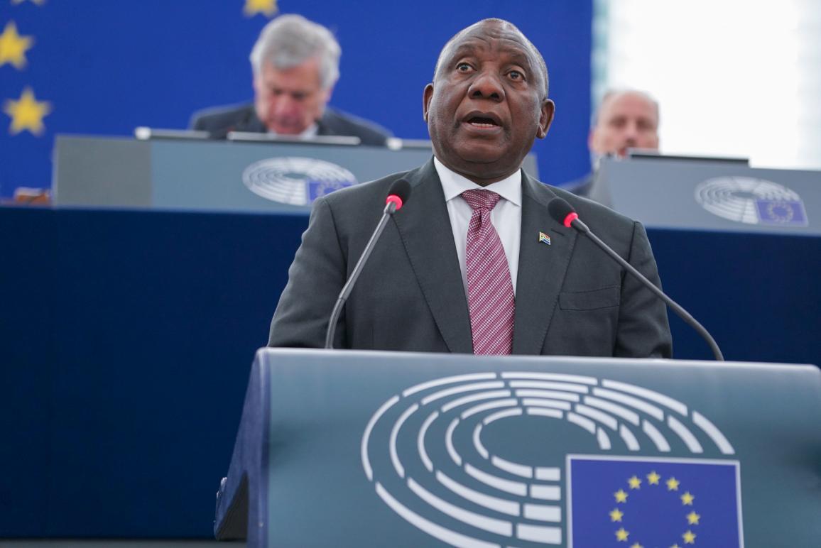 Il Presidente della Repubblica Sudafricana