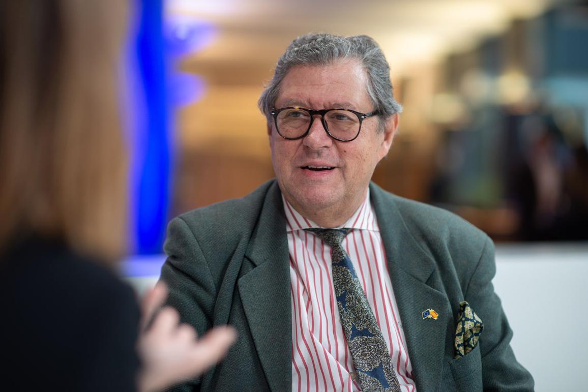 Foto:  EP atbildīgais ziņotājs Enrique Calvet Chambon (ALDE, Spānija).