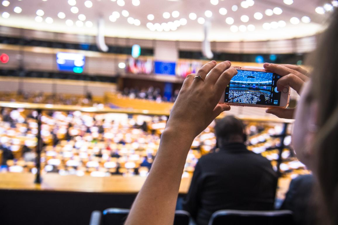 Επισκέψεις στο Ευρωπαϊκό Κοινοβούλιο για γκρουπ και για άτομα © European Union 2018 - EP