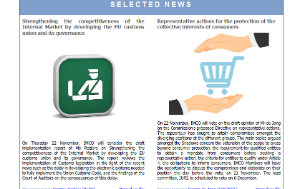 Selected news of the front page of the IMCO newsletter - issue 97 - November 2018