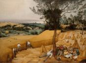 The Harvesters-Bruegel the Elder-landscape depictions of peasants harvesting