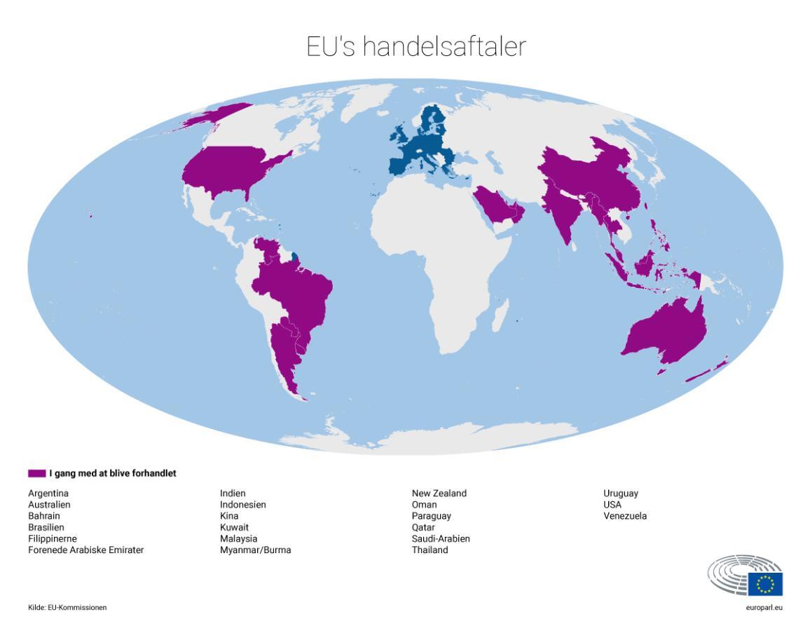 EU's handelsaftaler