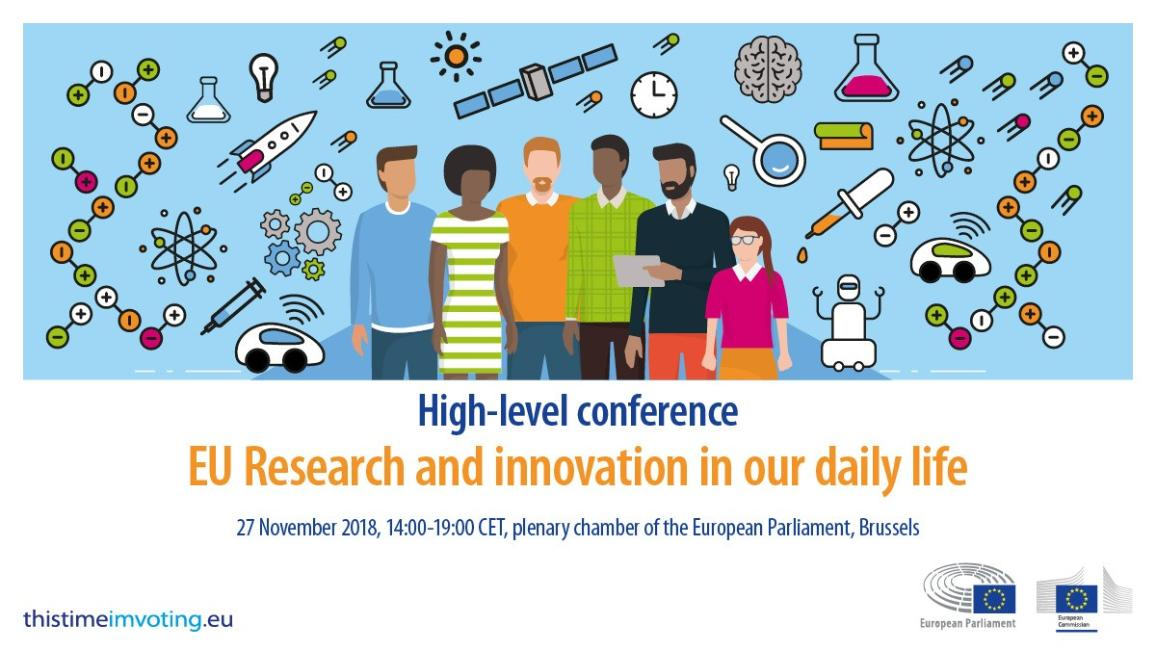 EU Research and innovation in our daily life - High-level conference