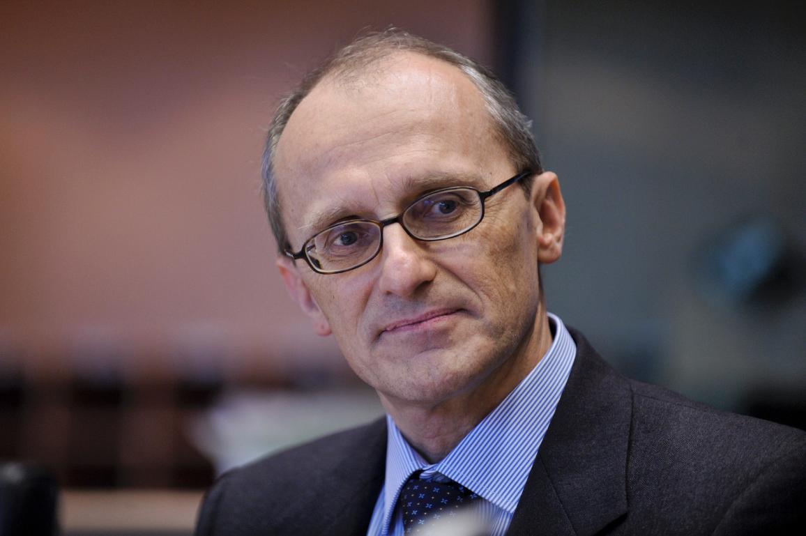 L'economista italiano Andrea Enria, attuale Presidente dell'Autorità Bancaria Europea (EBA) e candidato come futuro Presidente del Consiglio di vigilanza della BCE