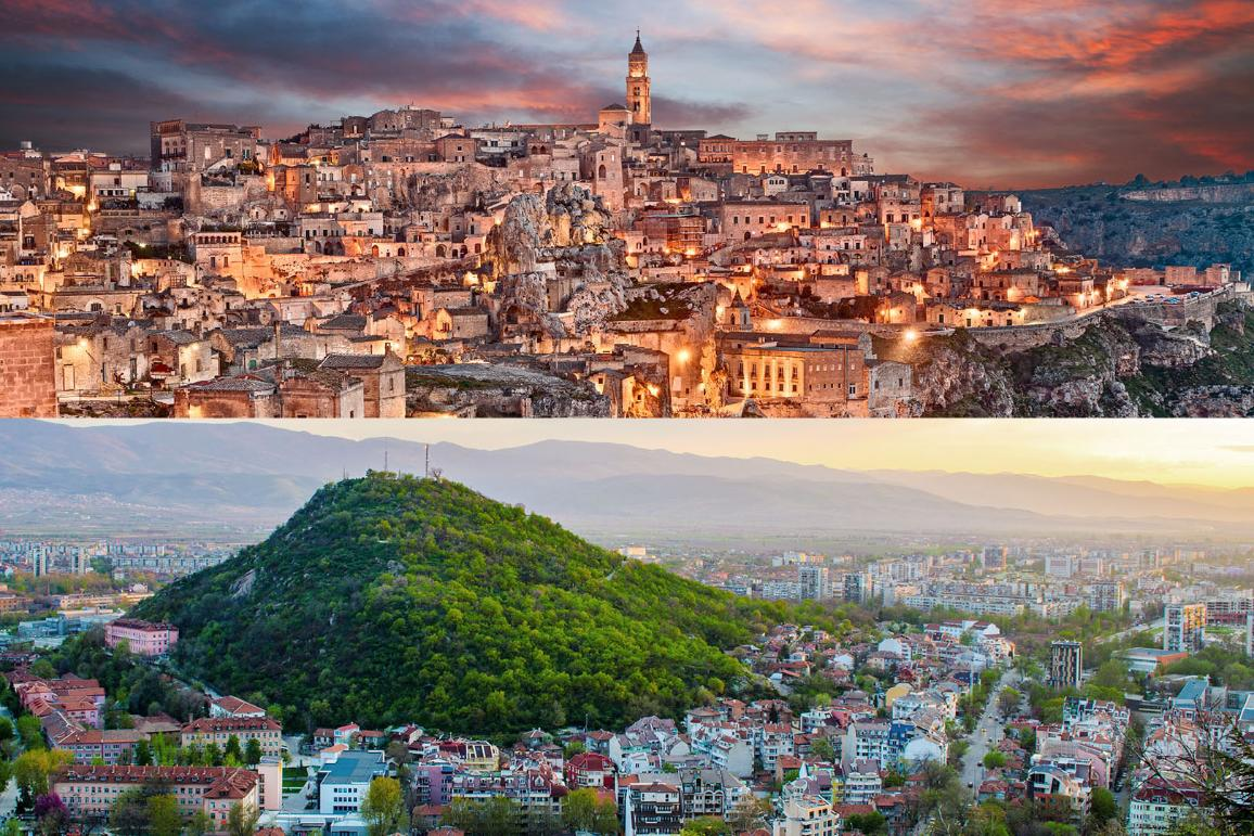 Capitals of Culture -  Matera and Plovdiv