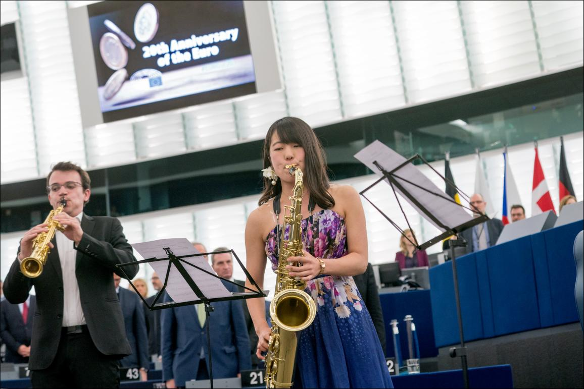 Foto del quarteto de saxofones Avena