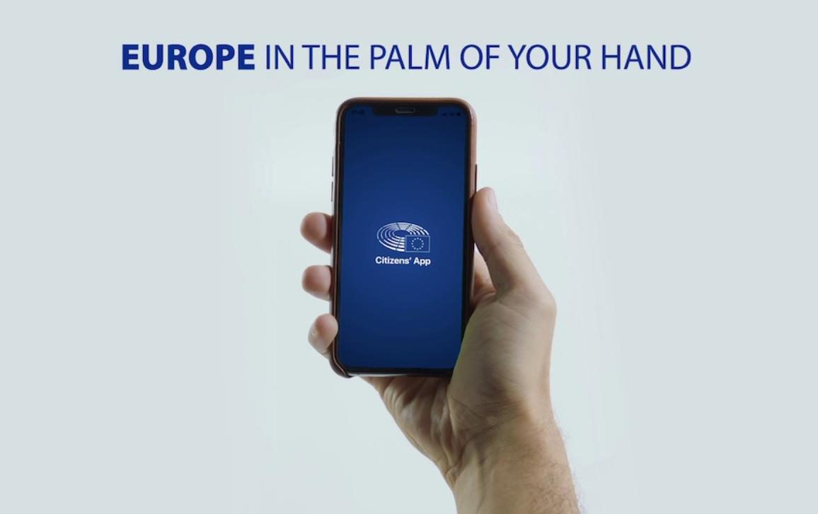 Citizens' App: Europe in the palm of your hand