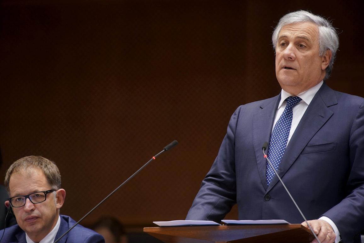 Opening speech of January plenary session by President Tajani