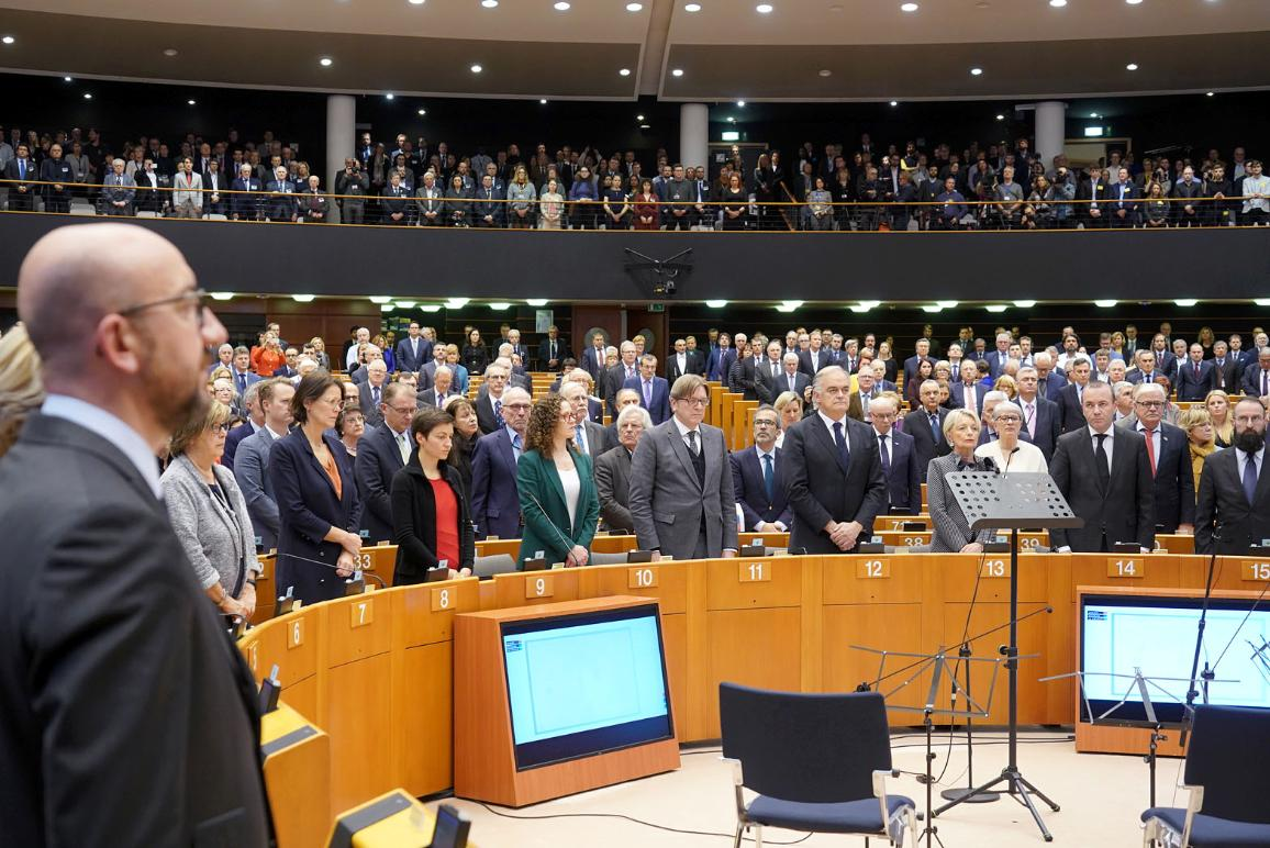 MEPs observe International Holocaust Remembrance Day. Speech by Charlotte Knobloch, former President of the Central Council of Jews in Germany opened the ceremony.