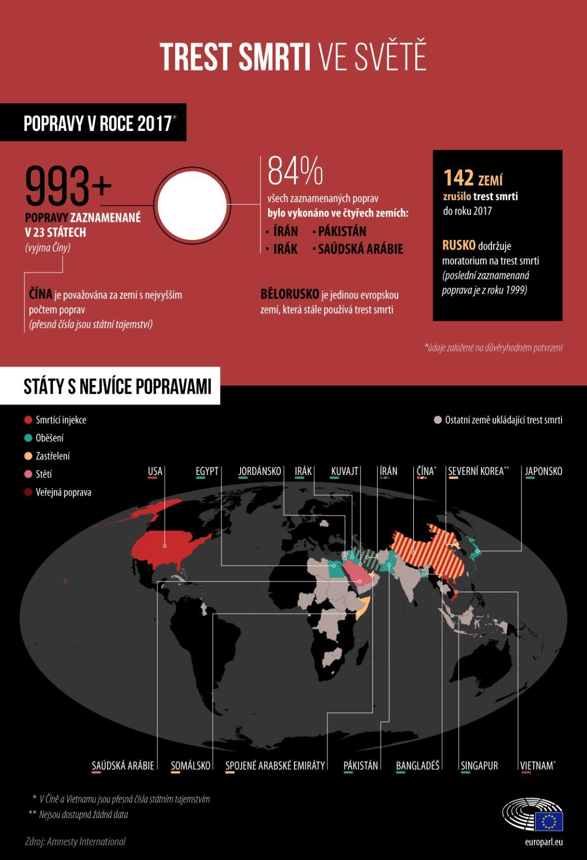 Trest smrti ve světě