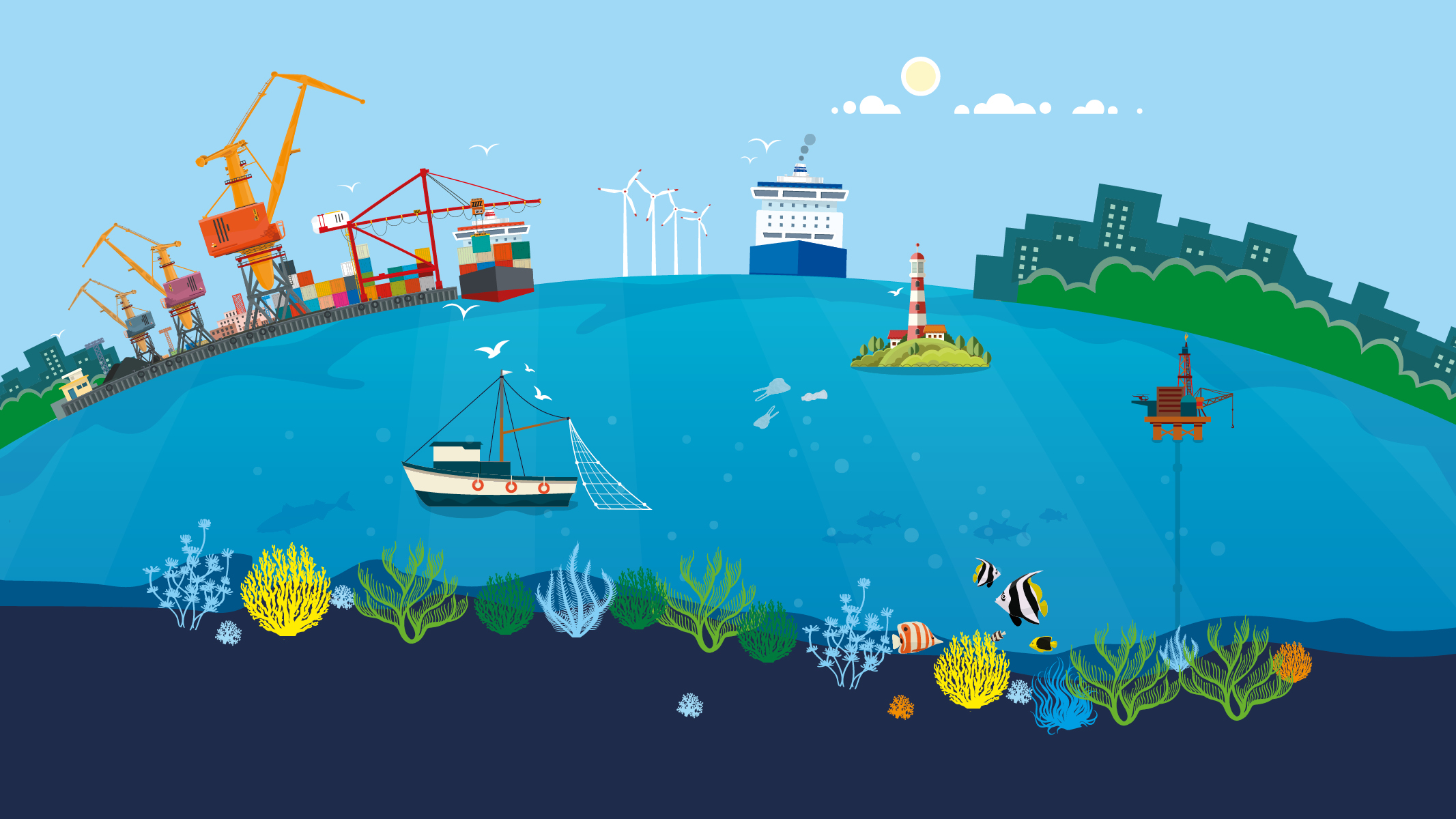 Future of the blue planet: Parliament conference on oceans