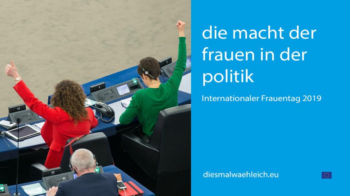 Poster zur Veranstaltung mit zwei EU-Abgeordneten