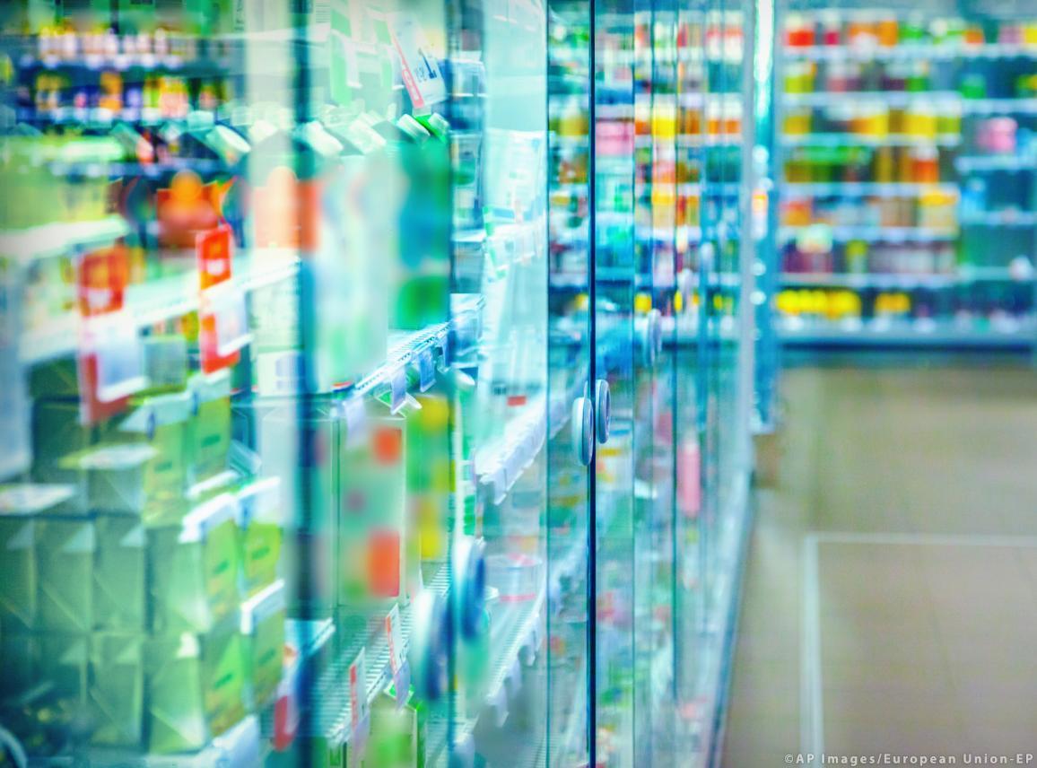 A supermarket general view image ©AP images/European Union-EP