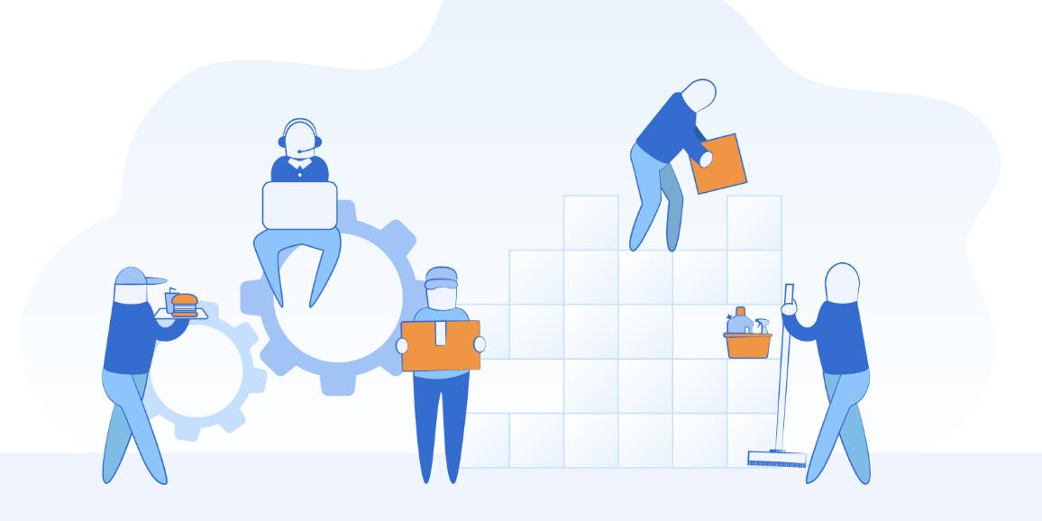 cover picture for working conditions infographic
