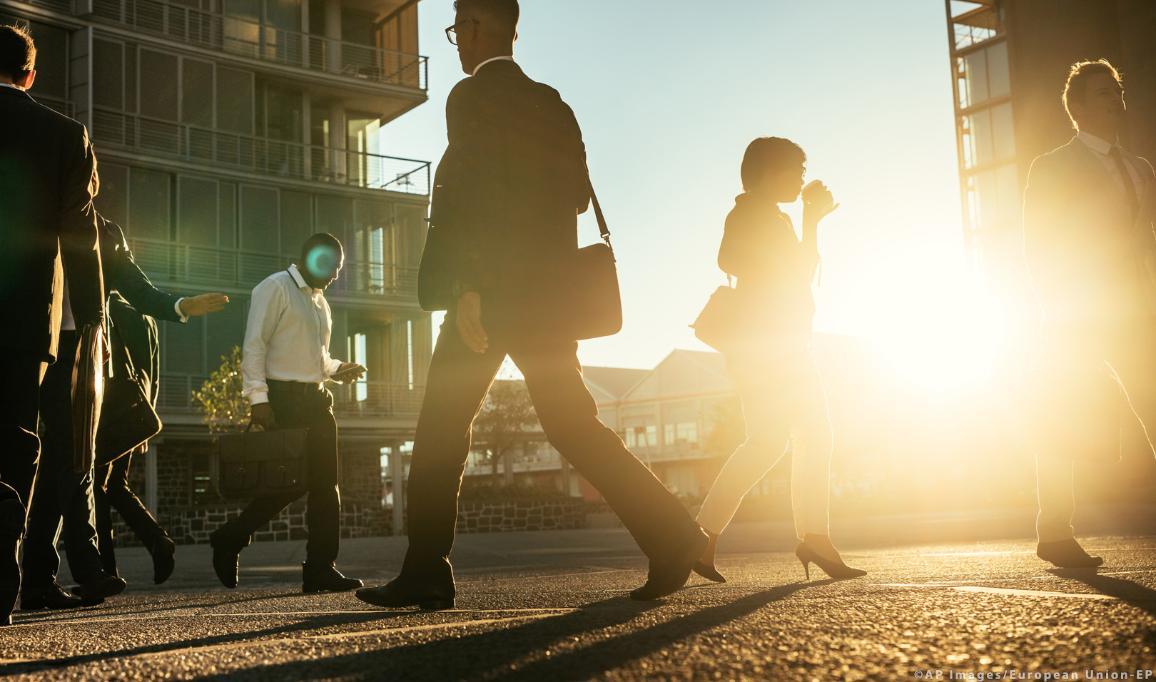 Evropská unie se zasazuje o zlepšení života pracujících lidí ©AP Images/European Union-EP