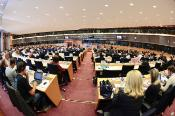 picture of MEPs during IMCO committee meeting