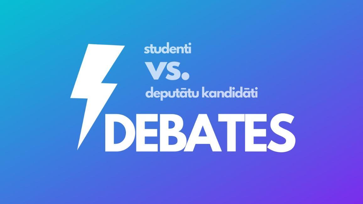 Latvijas studenti debatēs