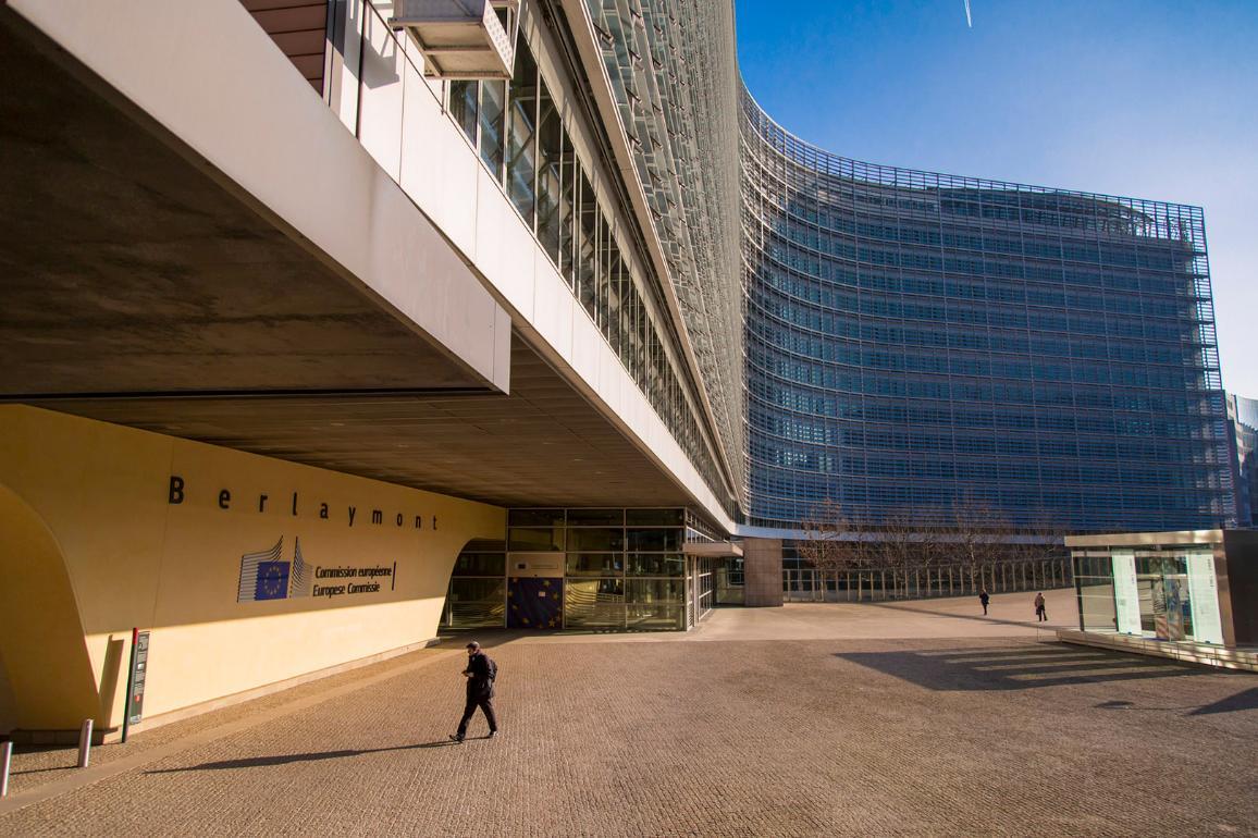 Главната сграда на Европейската комисия в Брюксел