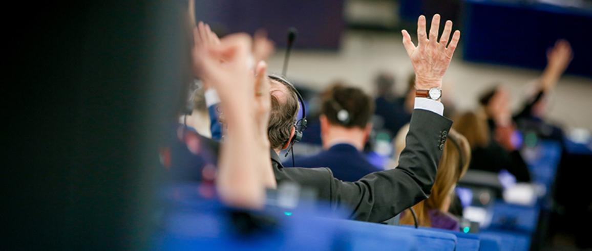 Ψηφοφορία στην ολομέλεια του ΕΚ.