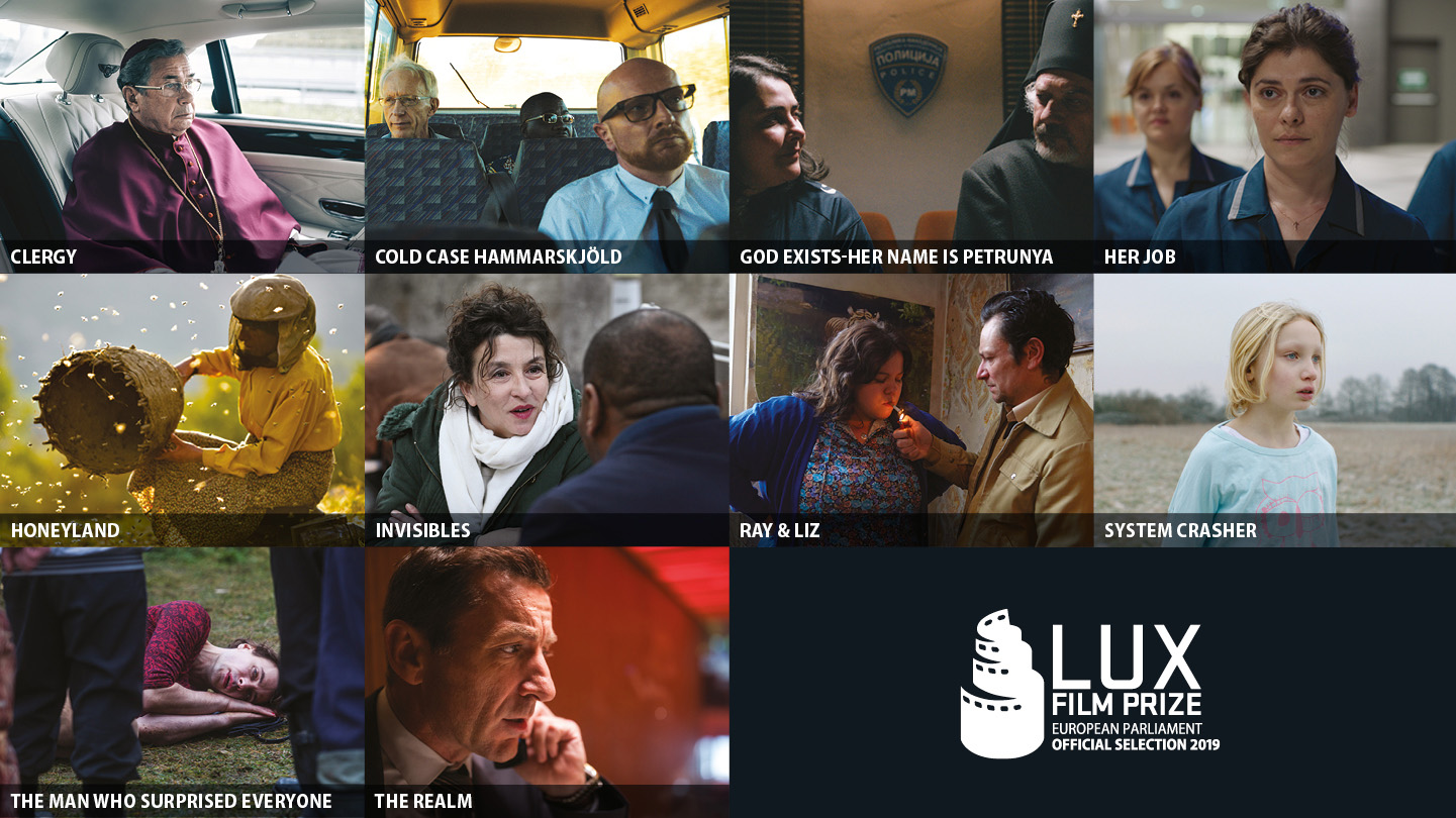 Discover the 10 films competing for the 2019 Lux Film Prize