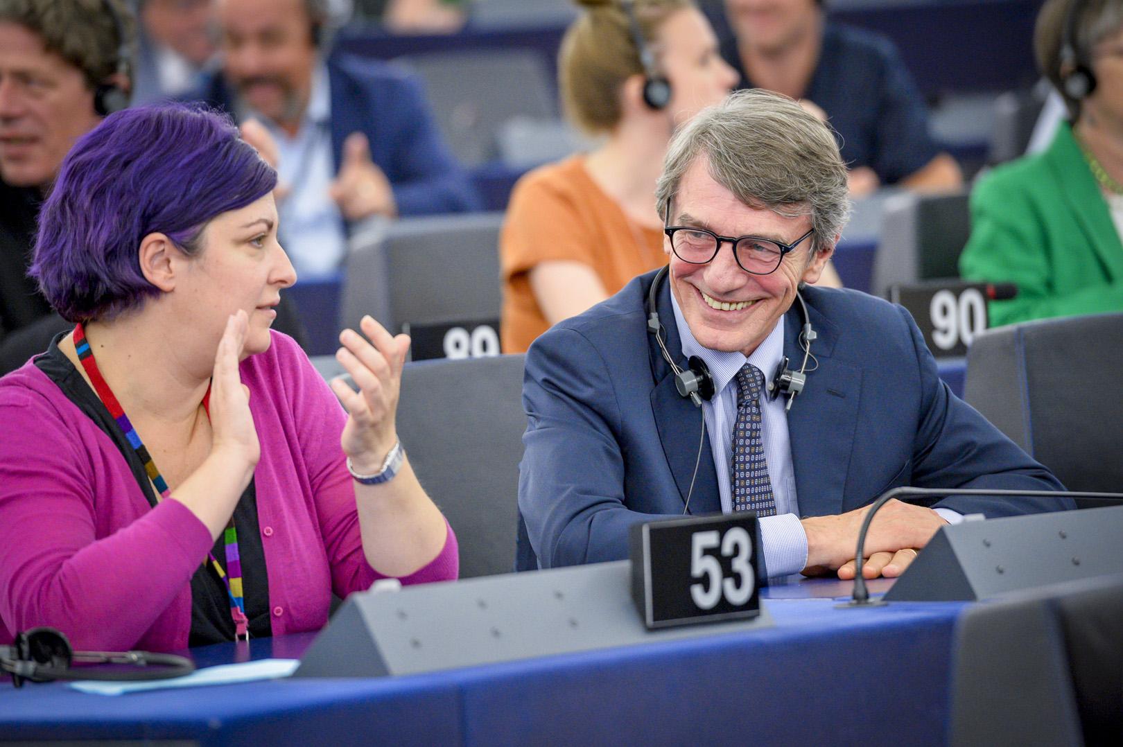 David Sassoli zum Präsidenten des europäischen Parlaments gewählt
