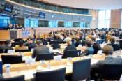 Members of BUDG Committee in Brussels