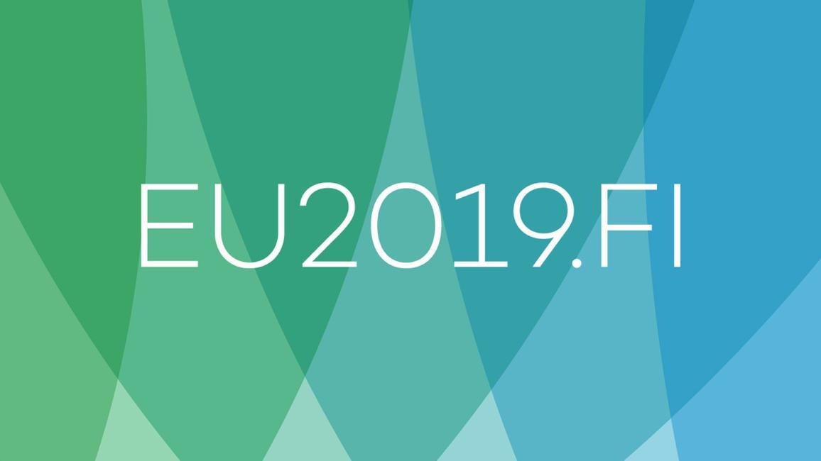 logo finského předsednictví Rady EU