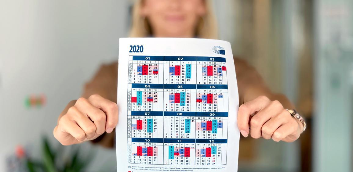 Calendrier Session Parlementaire Strasbourg 2022 Déchiffrez le calendrier coloré du Parlement européen | Actualité