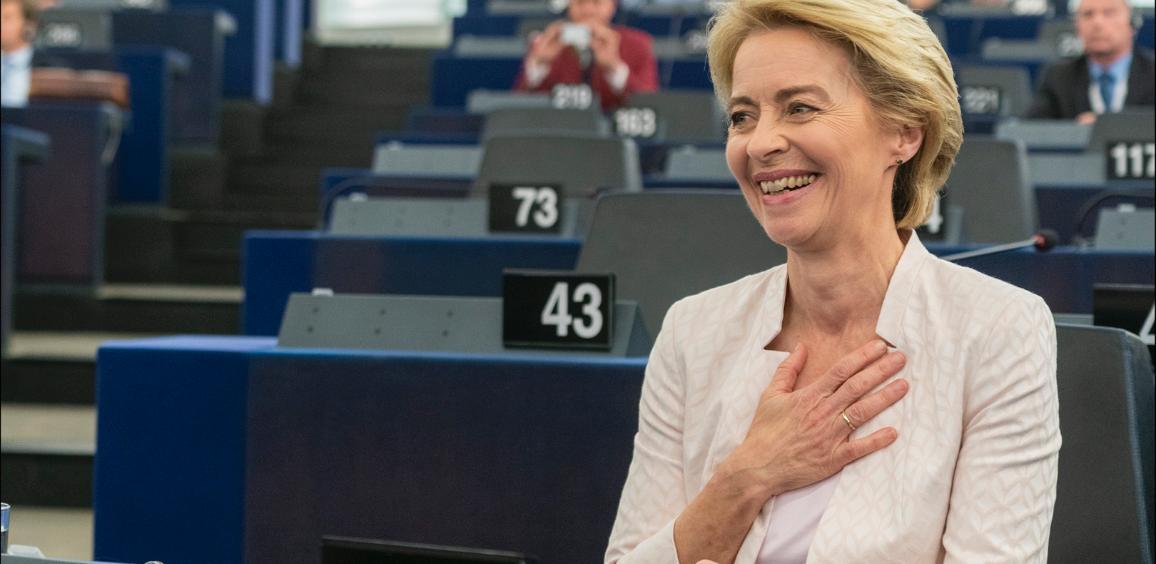 Парламентът избра Урсула фон дер Лайен за първата жена председател на  Комисията | Новини | Европейски парламент