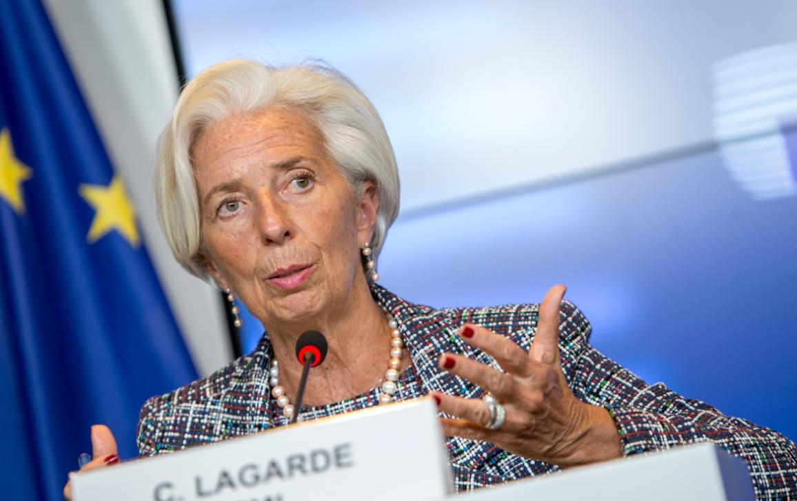 Christine Lagarde, Candidate for the position of ECB President