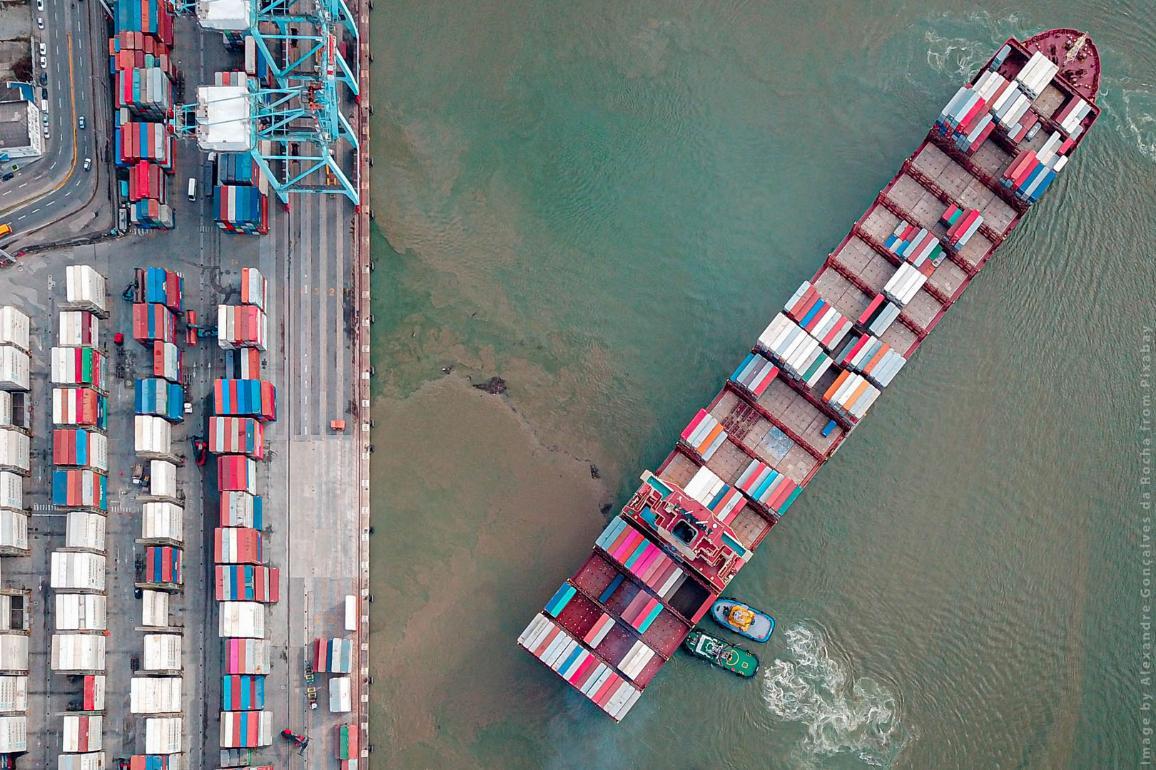 ES tirdzniecības politika ir galvenais instruments, lai maksimāli izmantotu globalizācijas sniegtās iespējas un reaģētu uz globalizācijas izaicinājumiem. Fotogrāfija - Alexandre Gonçalves da Rocha / Pixabay.