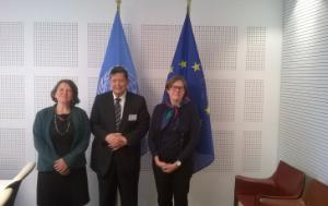 Mr Marzuki Darusman, MEP Heidi Hautala and MEP Ellie Chows