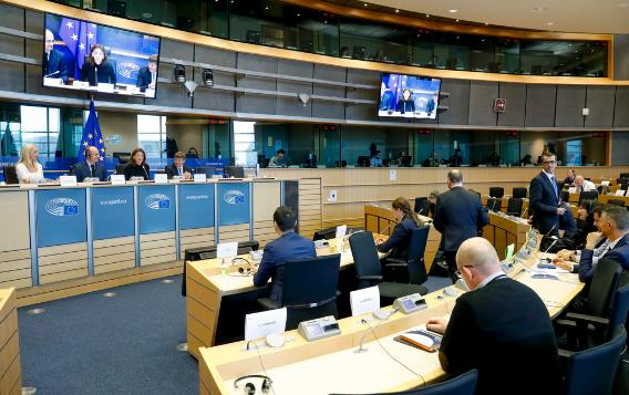 Constitutive meeting EU-Serbia delegation