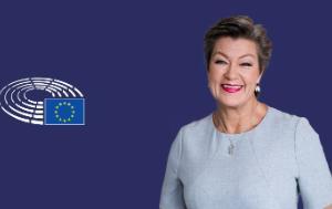 Commissioner-designate Ylva Johansson
