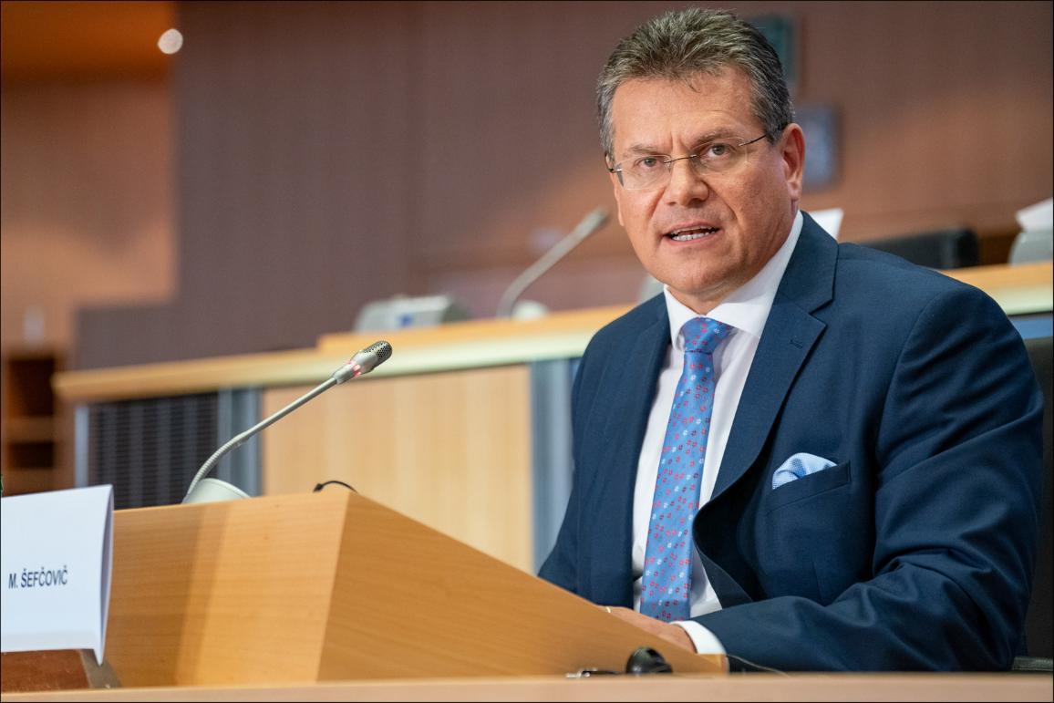 Hearing of Vice-President-designate Maroš Šefčovič