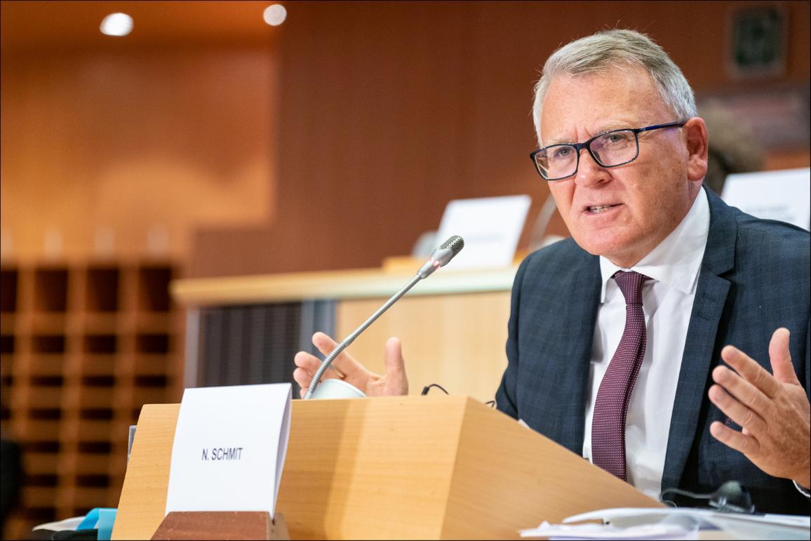 Hearing of Commissioner-designate Nicolas Schmit