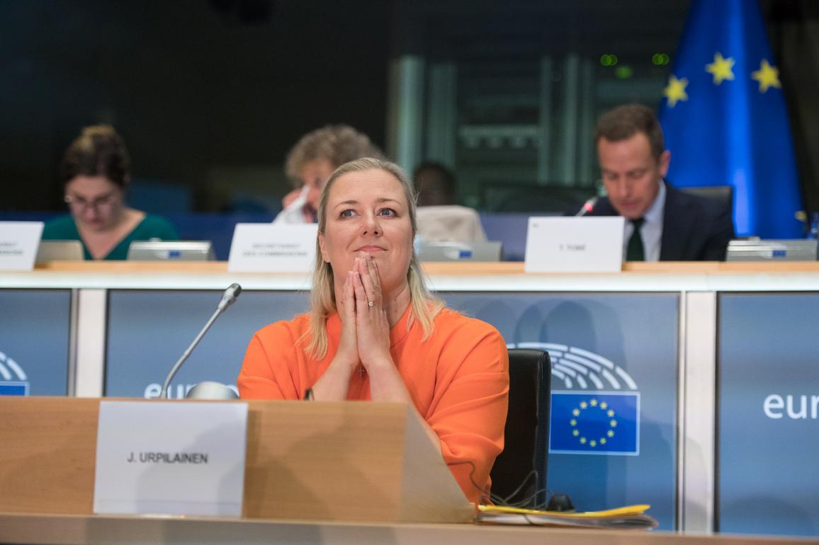 Hearing of Commissioner-designate Jutta Urpilainen