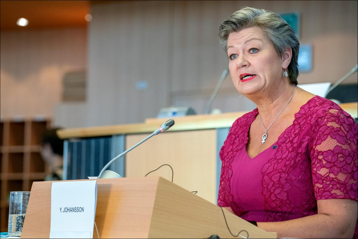 Hearings of Ylva Johansson -Sweden- Home affairs