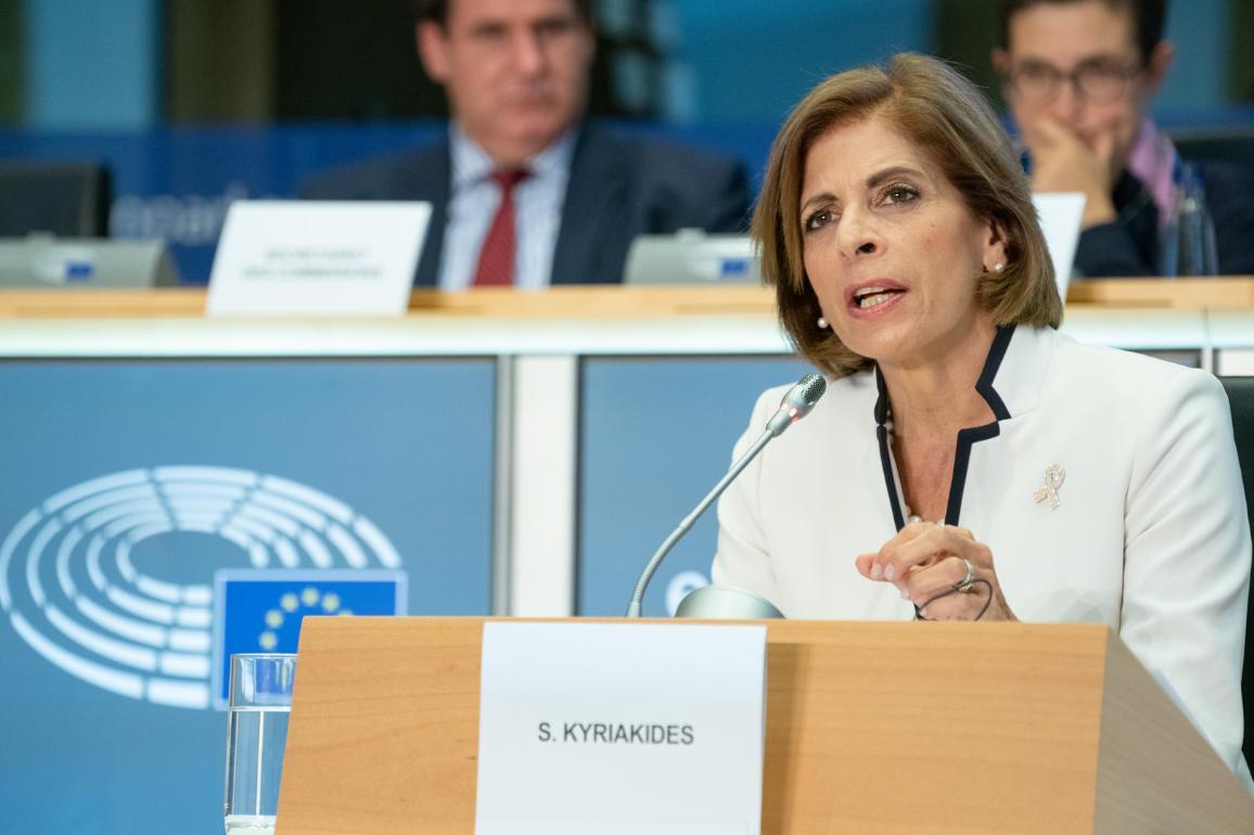 Hearings of Stella Kyriakides Cyprus  - Health