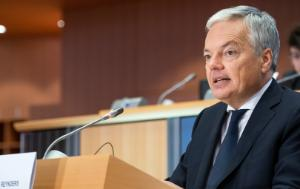 Didier Reynders, Commissioner for justice
