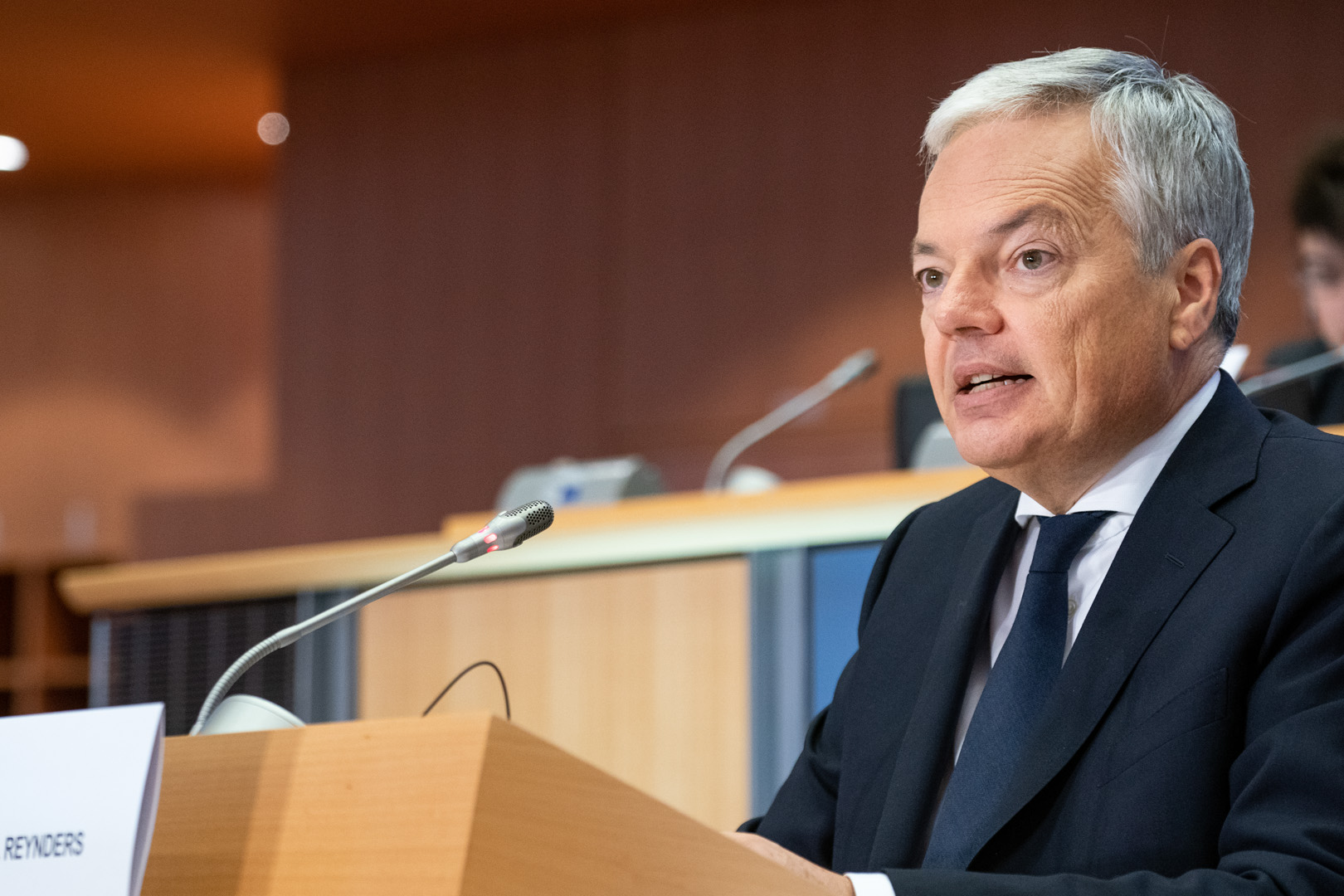Hearing of Didier Reynders, Belgium, candidate commissioner for justice