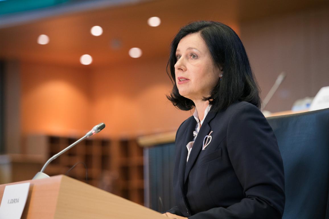 Verhoor van Věra Jourová (Tsjeggië) - aangewese vise-president © EU2019 - EP