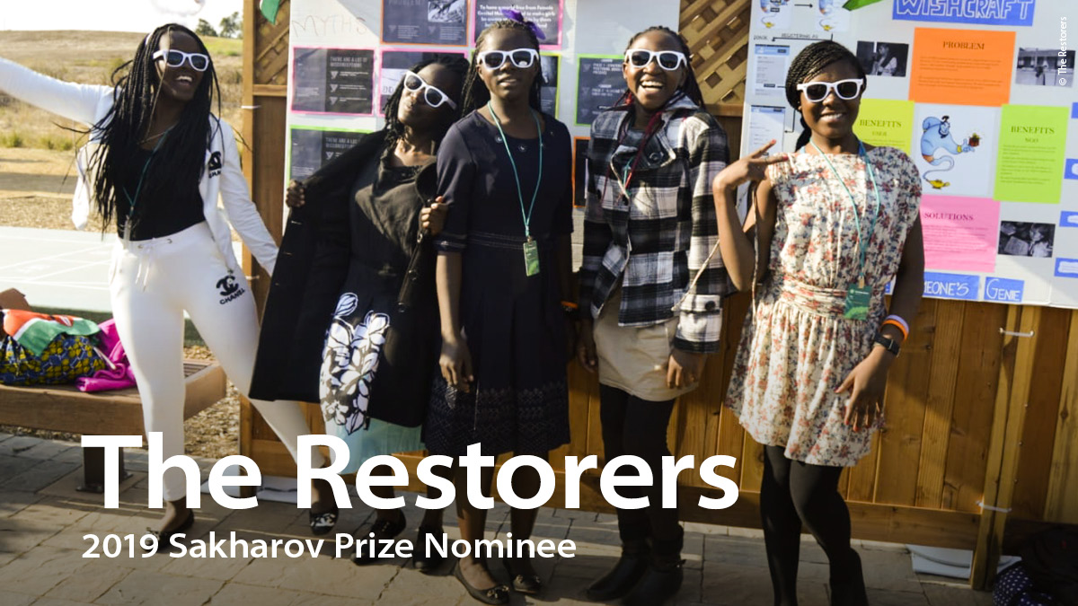 The finalists for this year's Sakharov Prize are: Marielle Franco, Chief Raoni and Claudelice Silva dos Santos; The Restorers; Ilham Tohti. (© AP Images / Ellis RUA; © Jeff Pachoud / AFP; © Senado Federal do Brasil; © Restorers;© AP Images / Andy WONG)