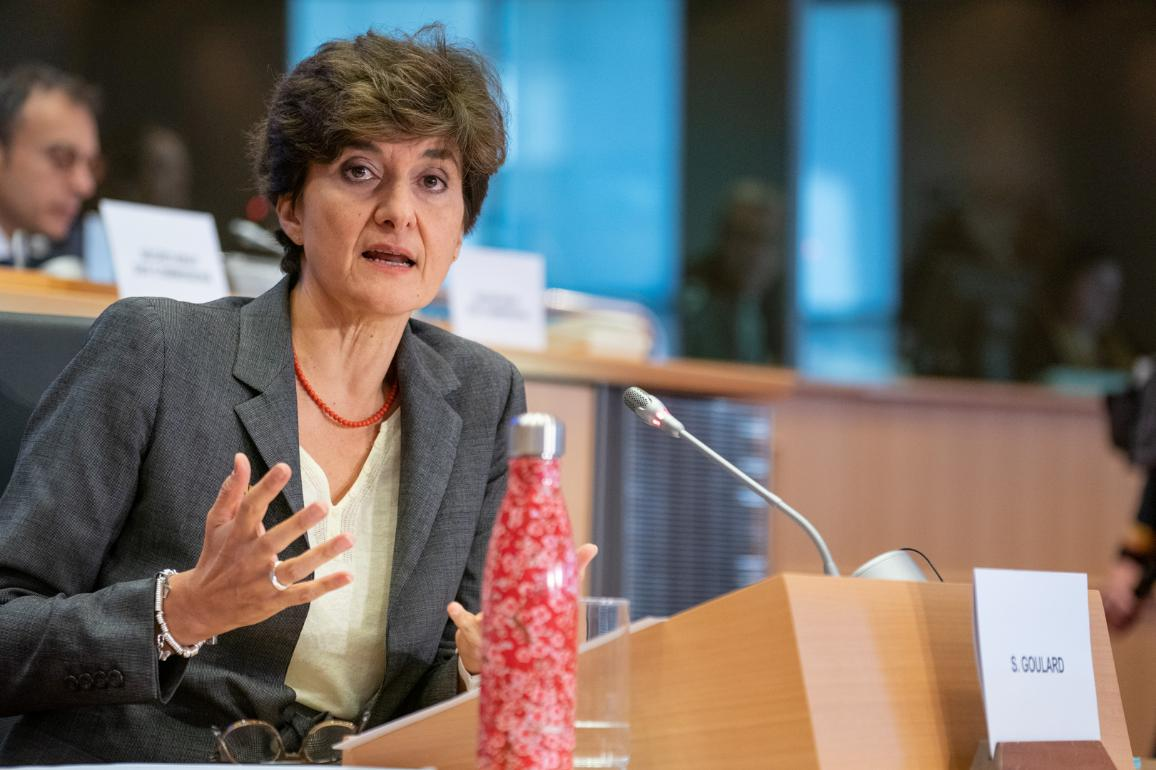 Resumed hearing with Sylvie Goulard, France, commisioner-designate for the internal market