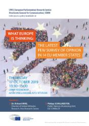 EPRS event of 17 October 2019 What Europe is Thinking