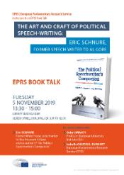 EPRS Book Talk on 5 November: A conversation with Eric Schnure