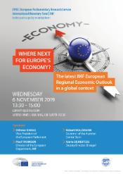 EPRS-IMF event on 6 November 2019