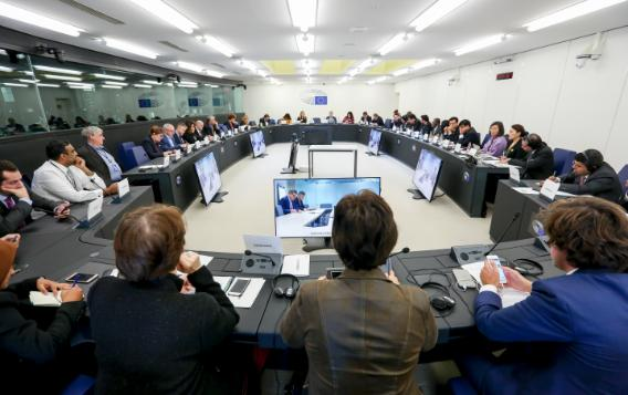 The first regular meeting of the Delegation for Relations with South Asia in this new parliamentary terms took place on 23 October 2019. The Ambassadors of Bhutan, the Maldives, Nepal,  Pakistan, Sri Lanka and the Deputy Head of Mission of Bangladesh updated MEPs on latest developments in relations between the EU and their respective countries. Representatives of the External Action Service linked in via video-conference.